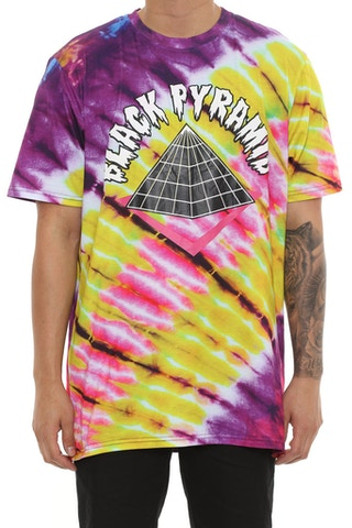 Black Pyramid Cotton Candy Tee Purple