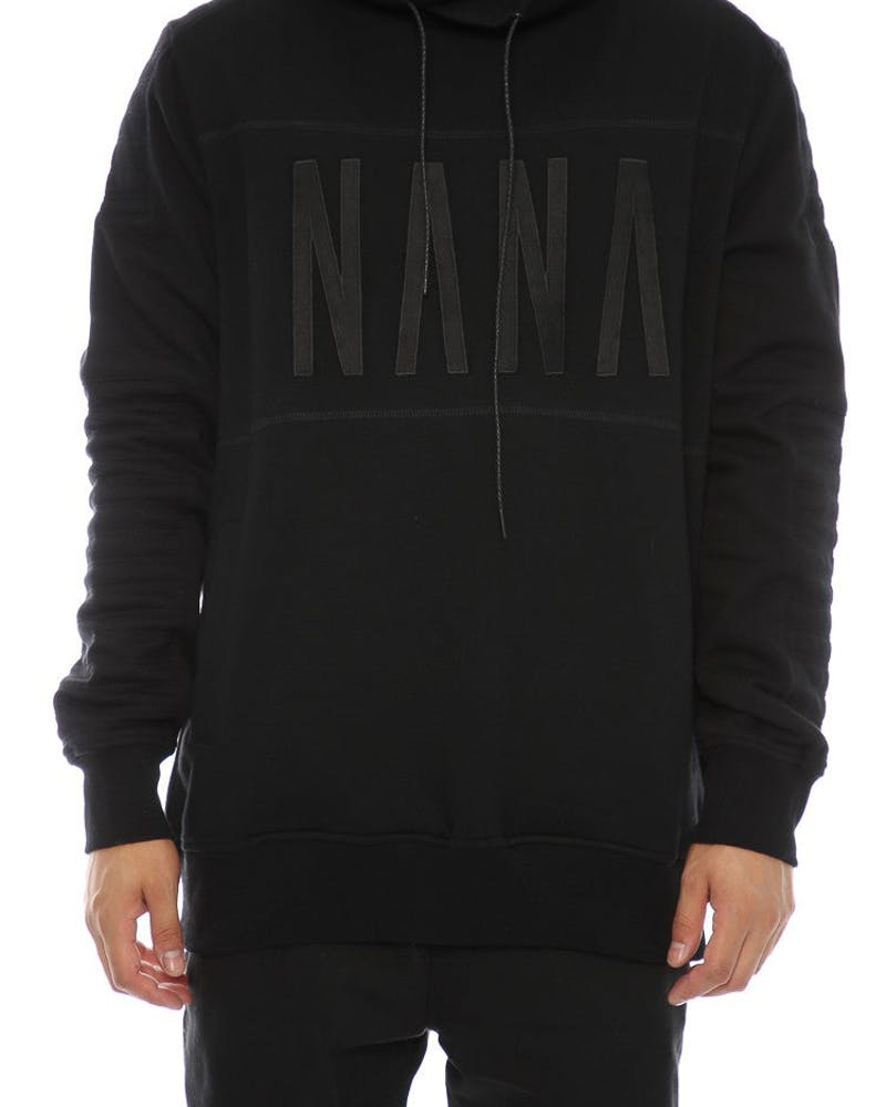 Nana Judy Pisa Embroidered Crew Black