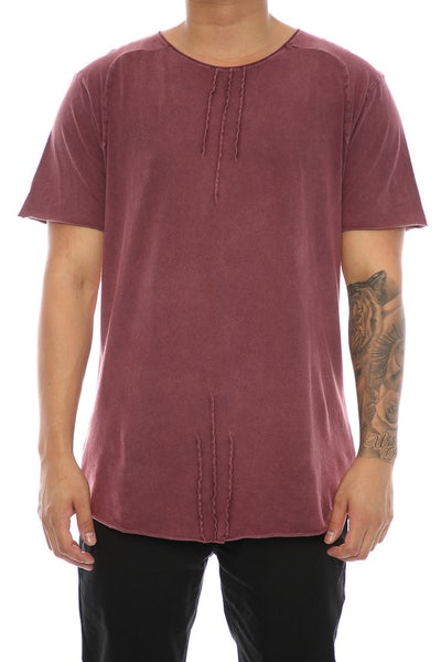 Nana Judy Ramble On Tee Burgundy