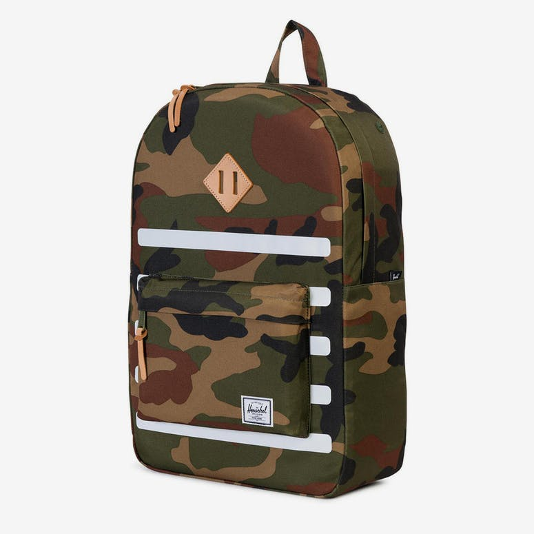 Herschel Bag CO Heritage Offset Backpack Camo white – Culture Kings 20898b4a780aa