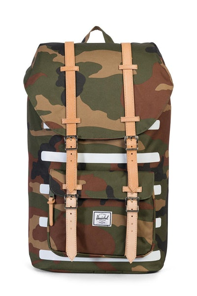 Herschel Bag CO Little America Offset Backpack Camo/white