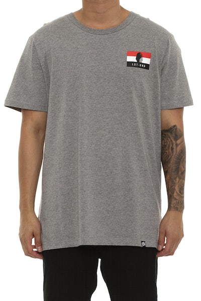 Last Kings Egypt Flag Tee Grey Heather