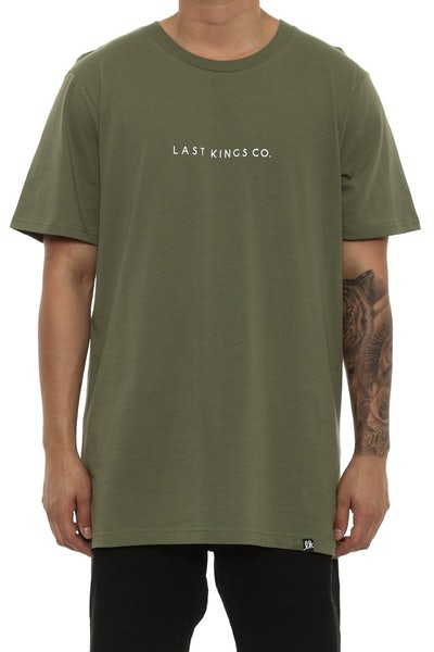 Last Kings Kingin Tee Leaf Green