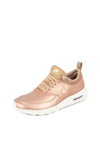 nike air max thea womens rose gold. Black Bedroom Furniture Sets. Home Design Ideas