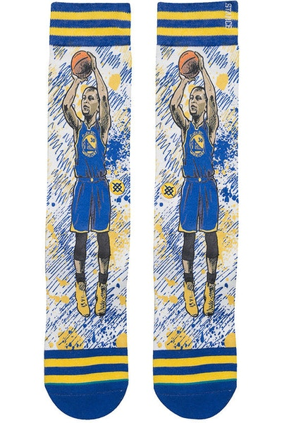Stance NBA Legends by Todd Francis Curry Sock Blue