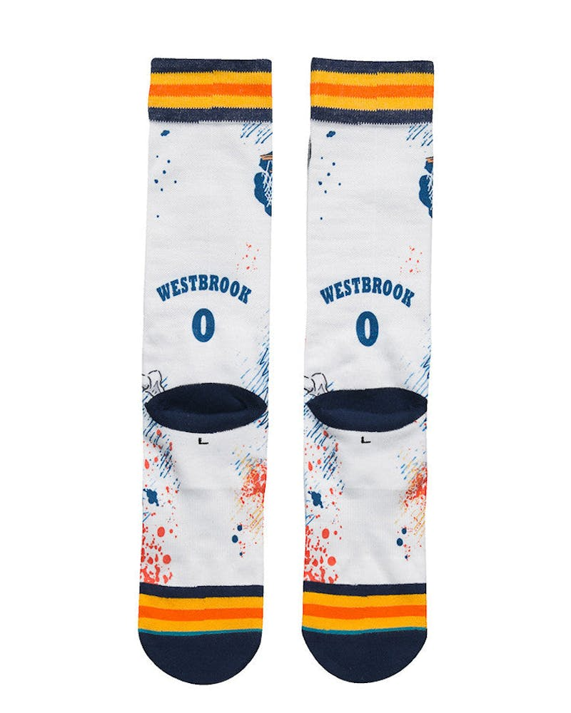 Stance NBA Legends by Todd Francis Westbrook Sock Navy