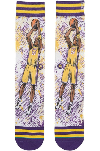 Stance NBA Legends by Todd Francis Kobe Bryant Purple