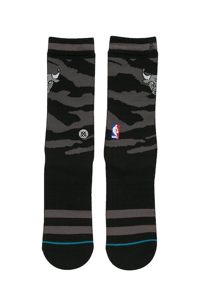 Stance Nightfall Bulls Sock Black