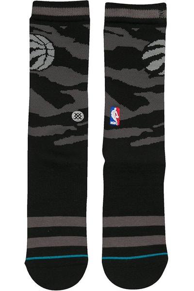 Stance Nightfall Raptors Sock Black