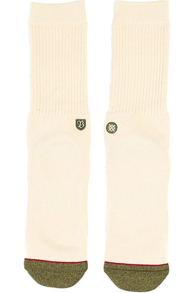 Brixton X Stance Surplus Sock Off White