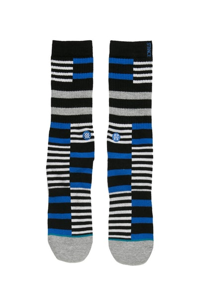 Stance Parson Striped Board Sock Blue
