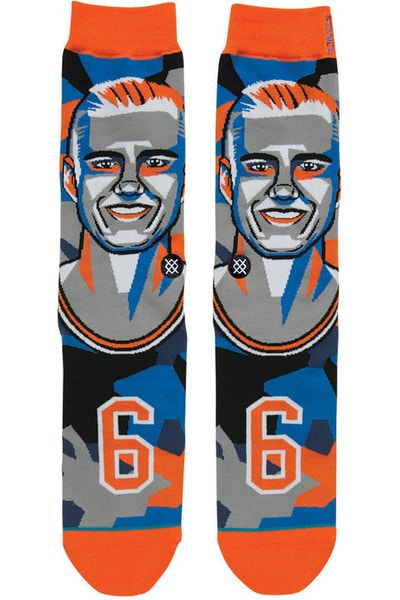 Stance Mosaic Porzingis Sock Orange