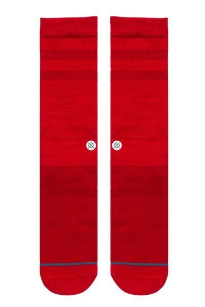 Stance Domain Sock Red