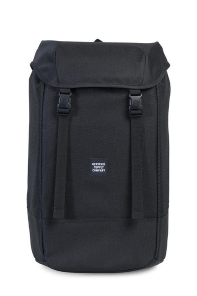 Herschel Bag CO Iona Rubber Aspect Backpack Black/Black