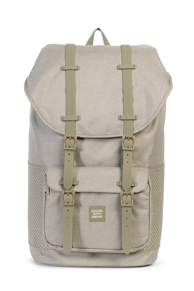 Herschel Supply Co Little America Crosshatch Aspect Dark Khaki