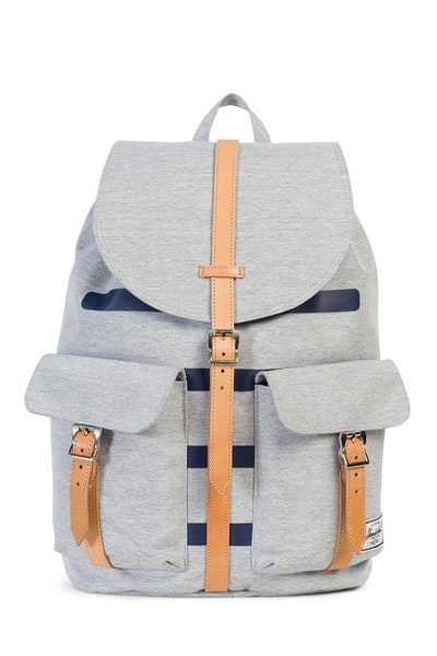 Herschel Supply Co Dawson Crosshatch Offset Grey/Navy