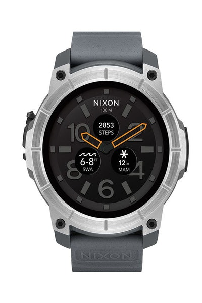Nixon Mission Watch Grey