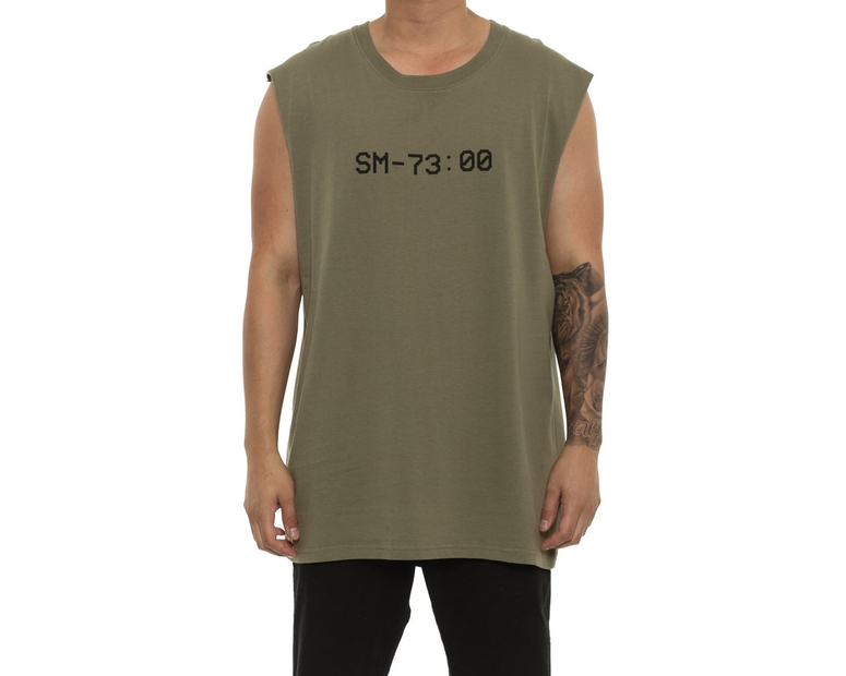 Saint Morta Time Keeper Oversize Muscle Tee Pale Green