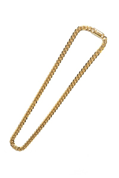 "Saint Morta Cuban 26"" 10MM Chain Gold"