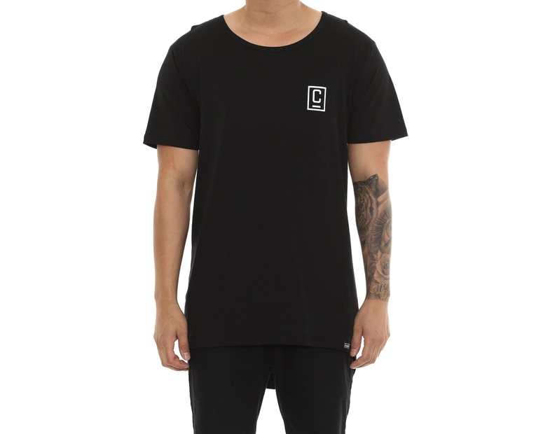 Carré Zidane Droptail Tee Black