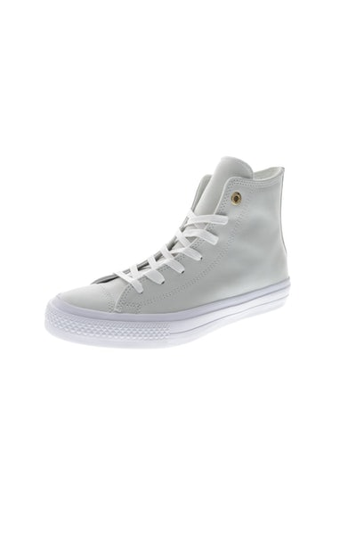 Converse Women's Chuck II Craft Leather Hi Top White