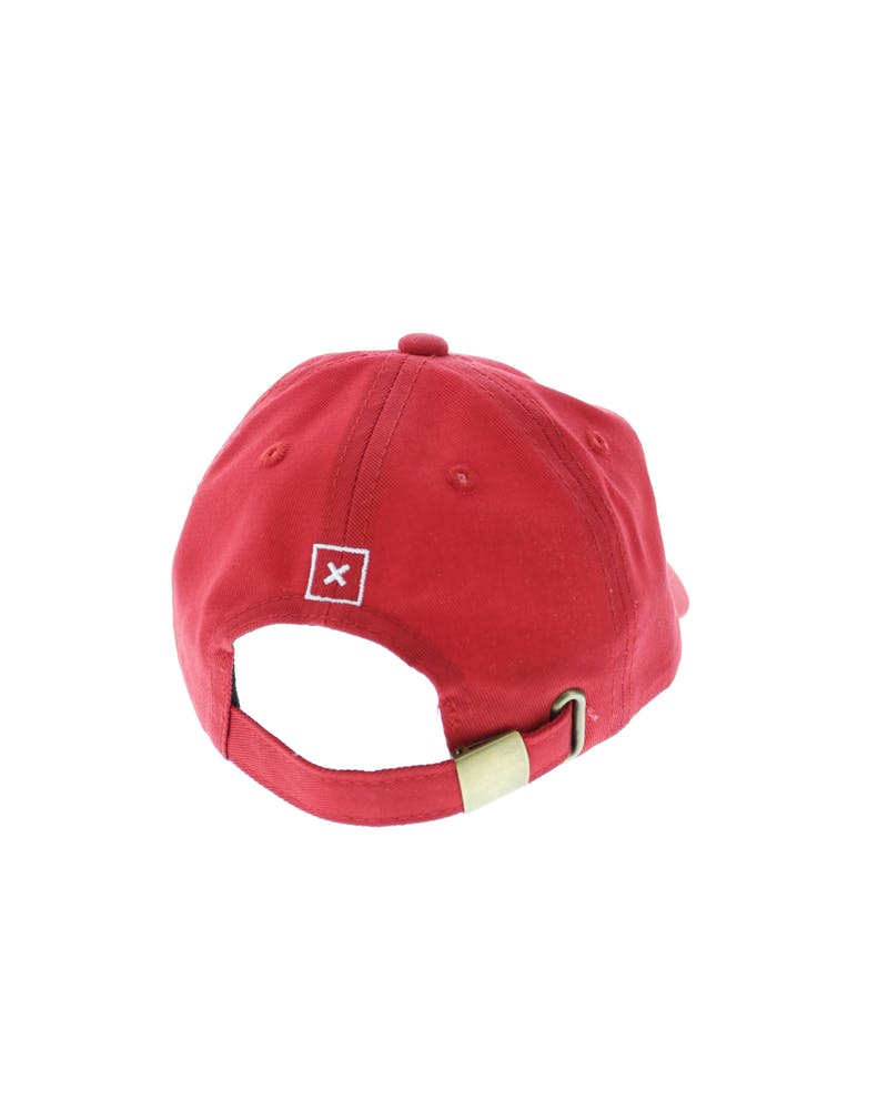 Lil Homme Toddler Ruth Strapback Red