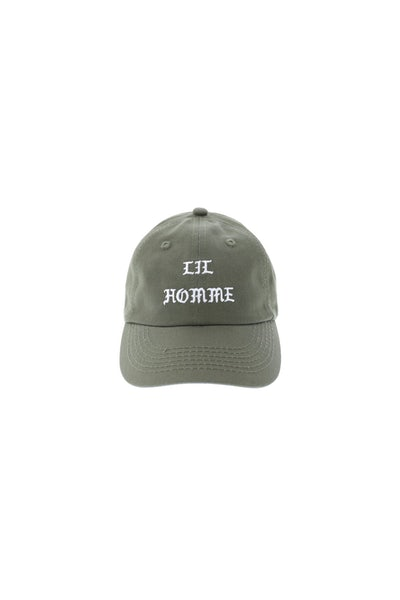 Lil Homme Toddler All Hail Strapback Olive