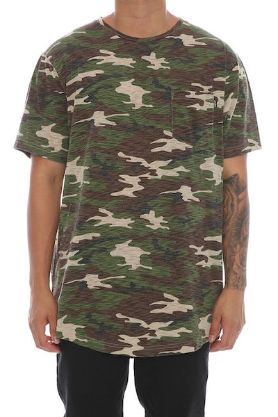 Fairplay Amiz Crew Neck Short Sleeve Camo