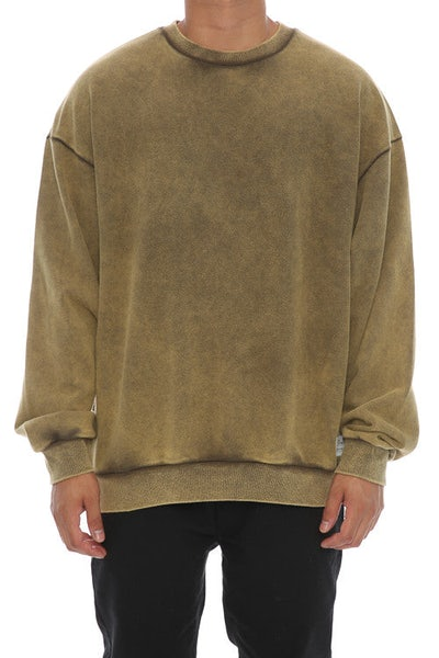 Fairplay Bronx Crew Neck Long Sleeve Olive