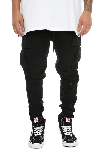 Fairplay Quincy Elastic Waist Pants Black