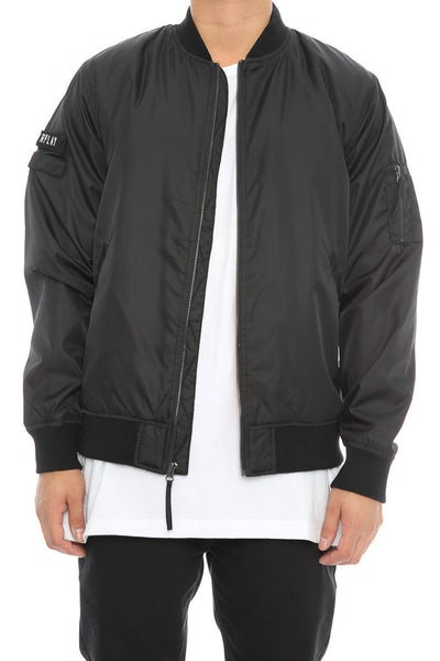 Fairplay Braeden Bomber Jacket Black