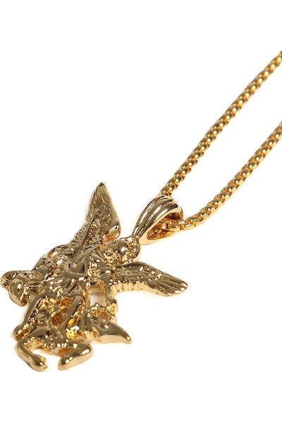 Veritas Archangel Pendant Chain Gold