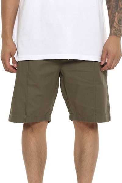Thing Thing Bizz Short Olive