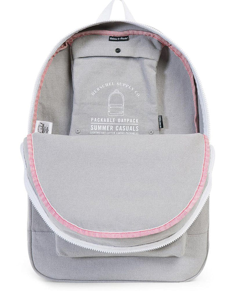Herschel Supply Co Daypack Cotton Casual Grey