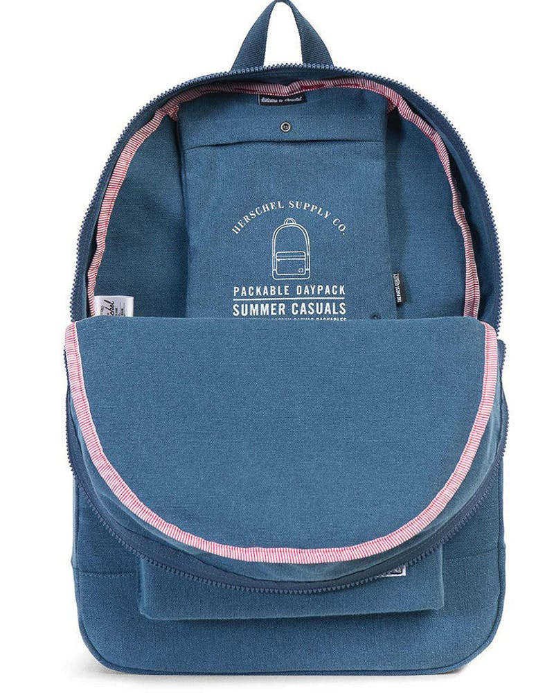 Herschel Supply Co Daypack Cotton Casual Navy