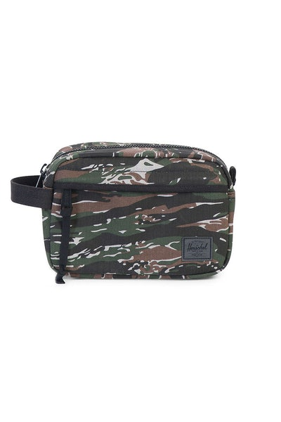 Herschel Supply Co Chapter Surplus Travel Kit Tiger Camo