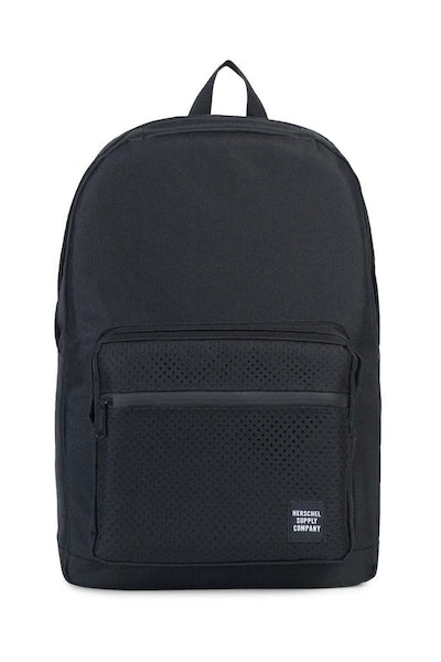 Herschel Supply Co Pop Quiz Rubber Aspect Backpack Black/Black
