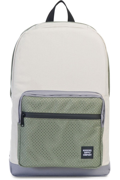 Herschel Supply Co Pop Quiz Rubber Aspect Backpack Cream/Army