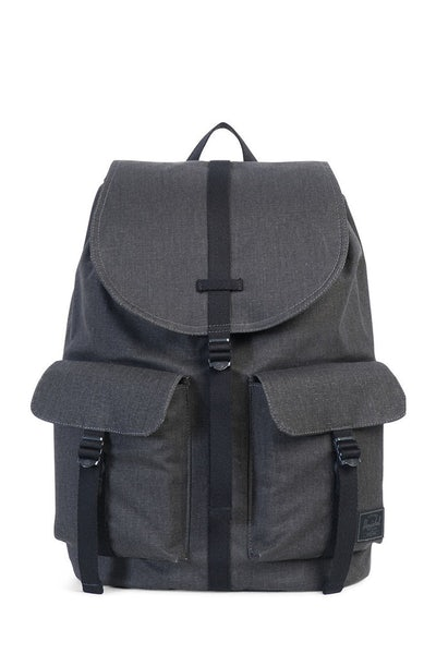 Herschel Supply Co Dawson Cotton Canvas Black