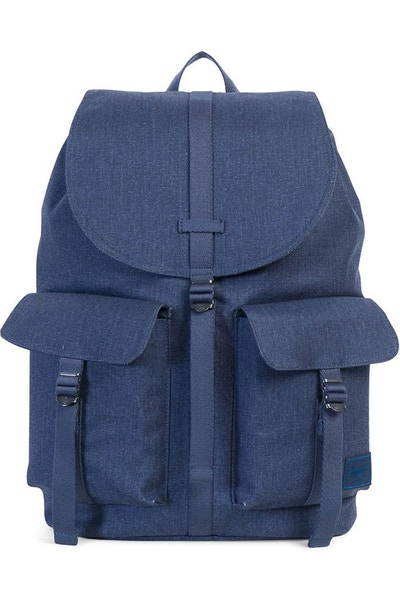 Herschel Supply Co Dawson Cotton Canvas Navy