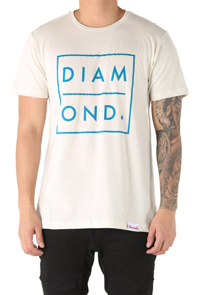 Diamond Supply Outline Tee Cream