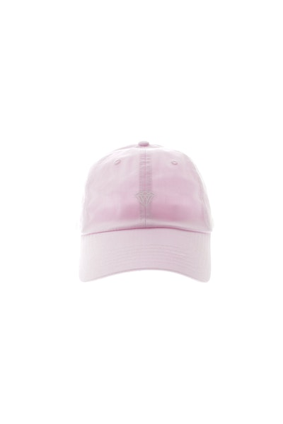 Diamond Supply Micro Brilliant Strapback Pink