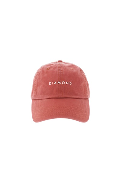 Diamond Supply Leeway Sports Strapback Red