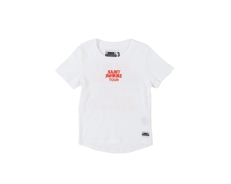 Lil Homme Saint Homme Short Sleeve Tee White