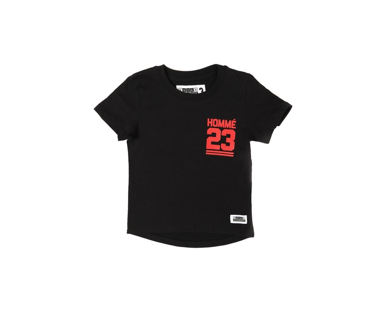 Lil Homme Jump Short Sleeve Tee Black