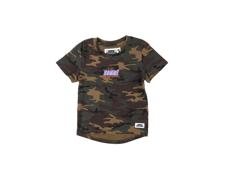 Lil Homme Giants Droptail SS Tee Camo