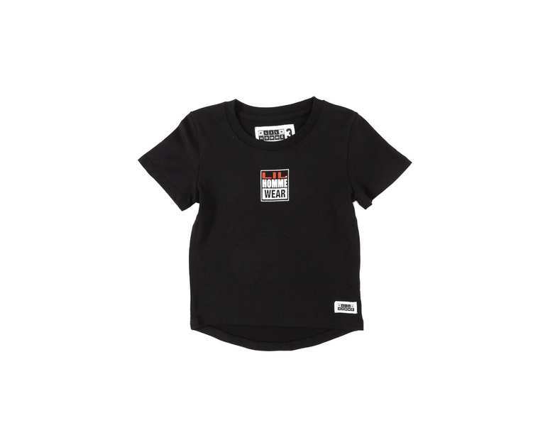 Lil Homme Lil Vision Short Sleeve Tee Black