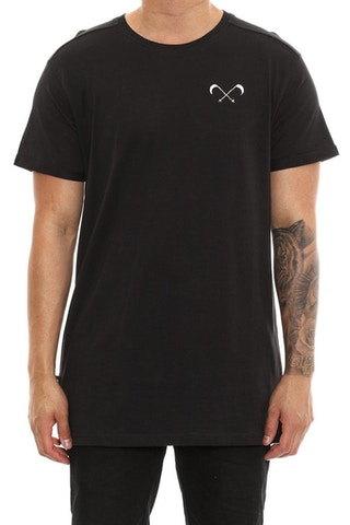 Saint Morta Scythe Embroidery Tee Black