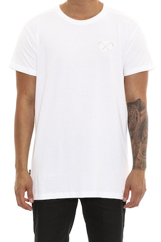 Saint Morta Scythe Embroidery Tee White