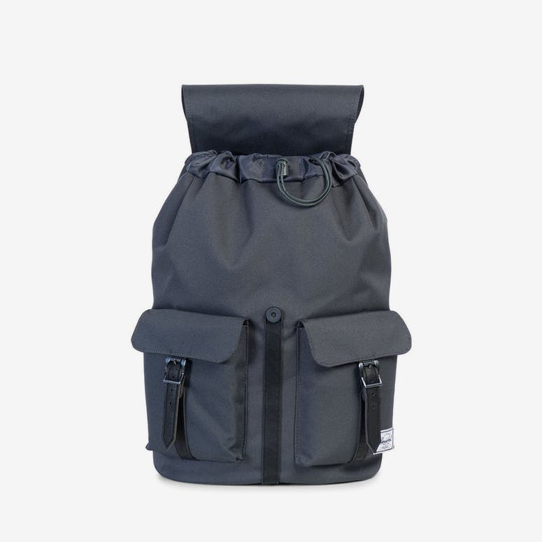 Herschel Supply Co Dawson Backpack Dark Grey Black – Culture Kings d3a10a708ebad